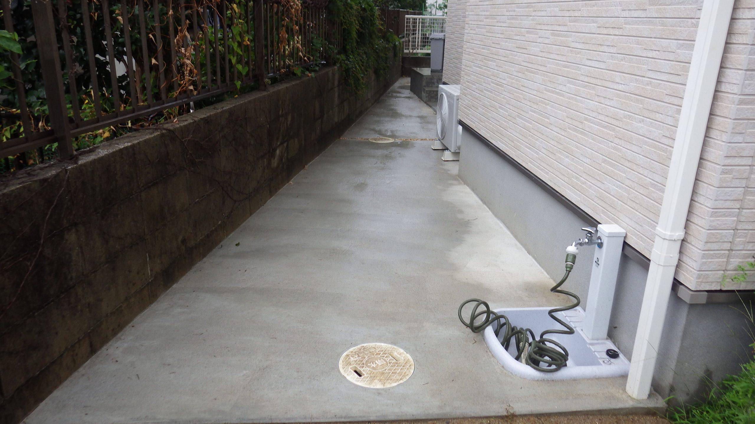 E邸 モルタルコンクリート 八幡西区