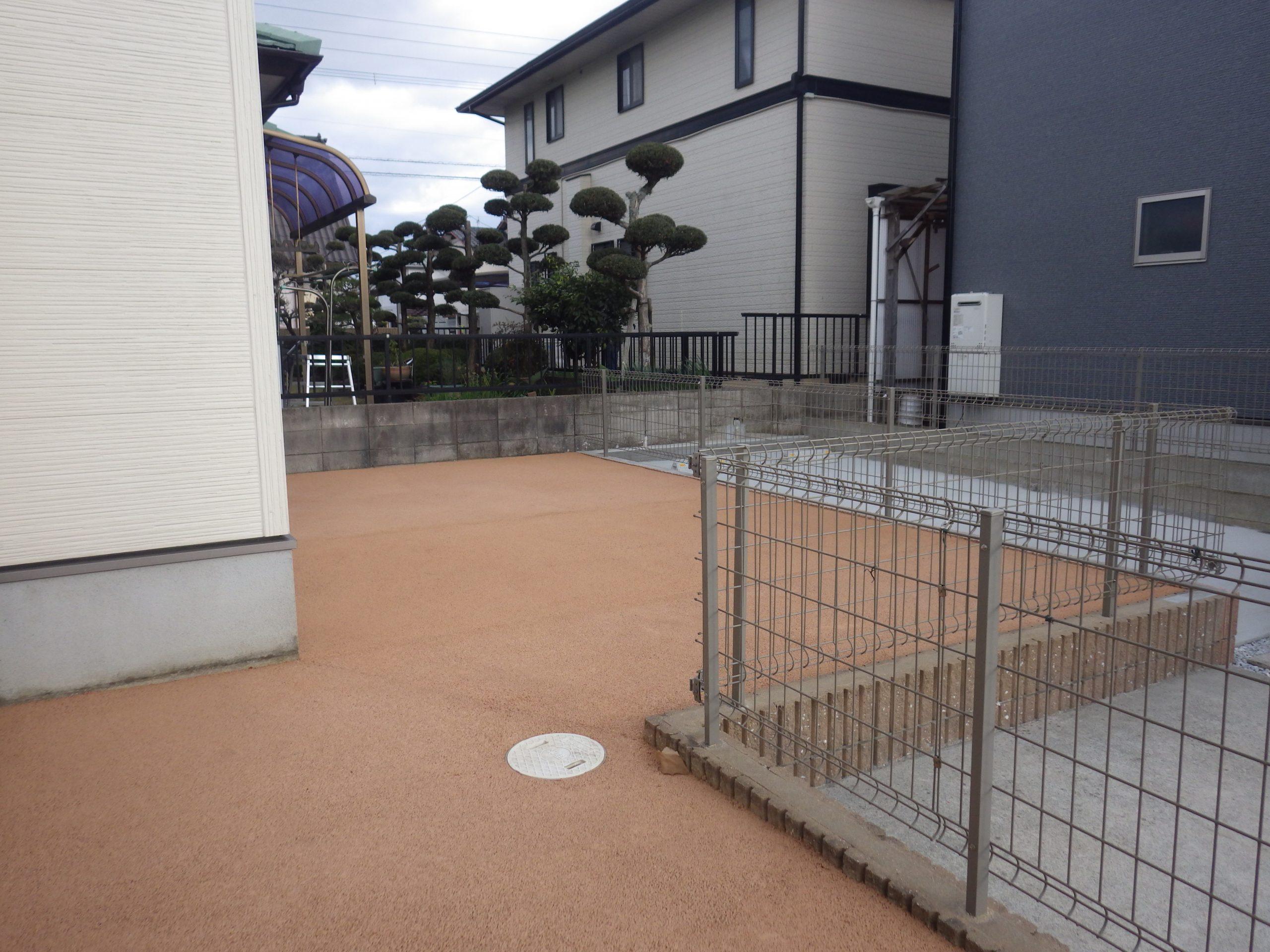 遠賀郡 A邸様 ガチン固施工しました