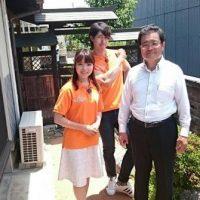 6月17日(土)山口朝日放送『GO!GO!サタデーPLUS』にガチン固の施工代理店『寿建設』が出演しました