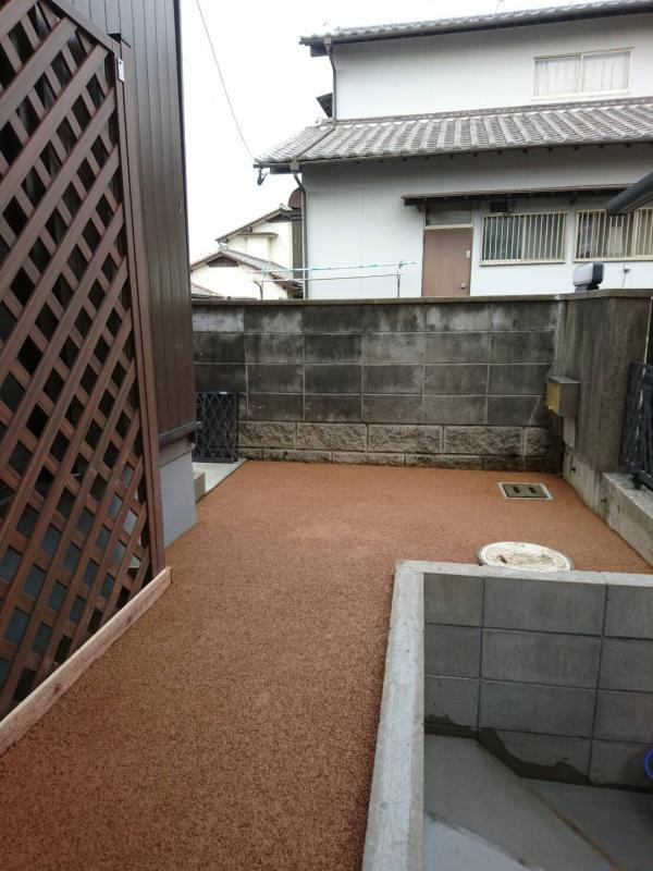 小倉北区、S邸11月7日施工