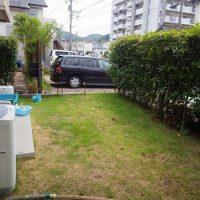 2016/9/30 若松区 J 邸 防草工事(ガチン固)