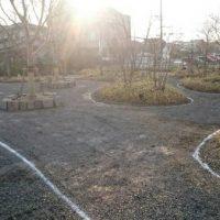 2017/1/19 遠賀郡水巻町、U株式会社の園路2が完成しました。
