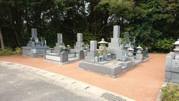 2017/3/24 門司区城山霊園をガチン固施工しました!