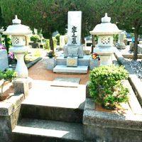 2017/5/23 遠賀霊園、N家様のお墓周りをガチン固で施工! すっきりして、草苅の手間がなくなりました!