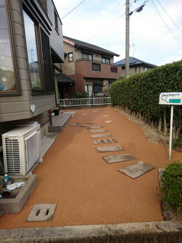 小倉南区、上村邸、11月25日施工