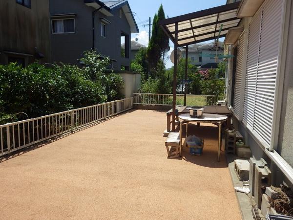 2016/7/29 遠賀郡 K邸 防草工事(ガチン固)