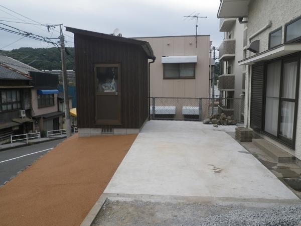 2016/8/25 八幡東区 K邸 防草工事(ガチン固)