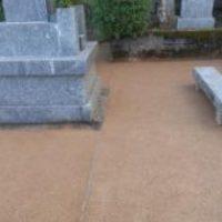 H24年民間工事実績 墓地