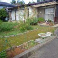 H26年民間工事実績 玄関横の庭園