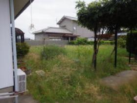 H26年民間工事実績 畑として使用していたお庭にも