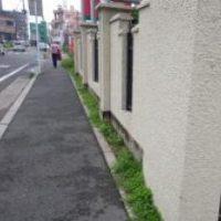 H26年民間工事実績 家と歩道との隙間