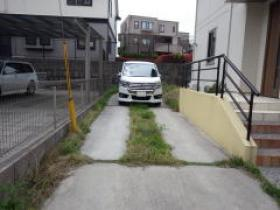 H26年民間工事実績 駐車場にガチン固