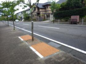 H26年度公共工事実績 北九州市 荒生田祝町1号線景観整備工事