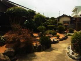 H25年民間工事実績 和風庭園