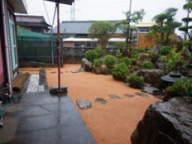 H26年民間工事実績 和風庭園